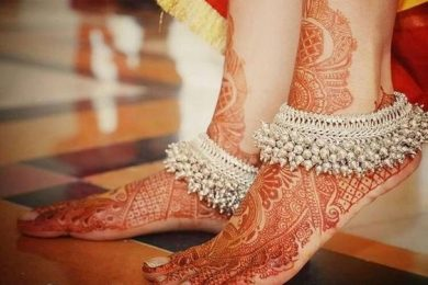 Different payal style, Indian accessory