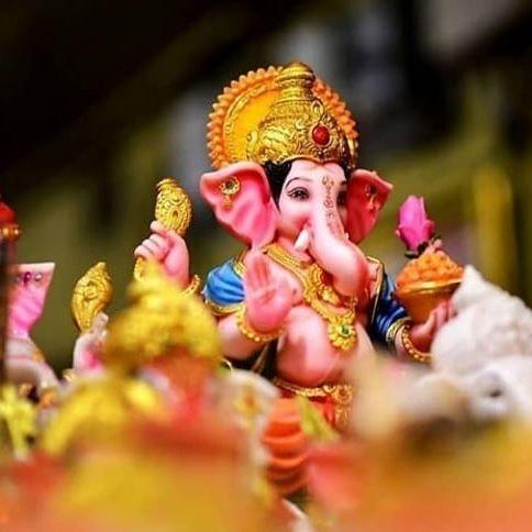 Make eco friendly ganesha idol at home