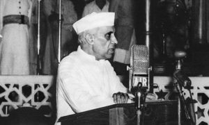 Tryst with destiny by Jawaharlal Nehru