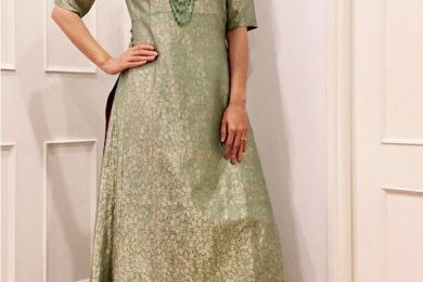 3 Dia Mirza Kurta's Which You Can Make From Old Silk And Brocade Sarees