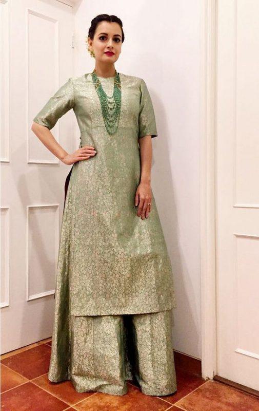 Dia Mirza kurta designs