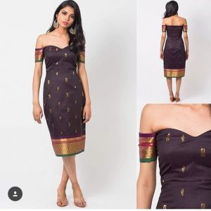 Turn silk sarees into dresses
