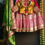 Use Bandhej As A Second Dupatta For Your Bridal Lehnga's