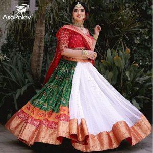 Bandhani dupatta for the brides