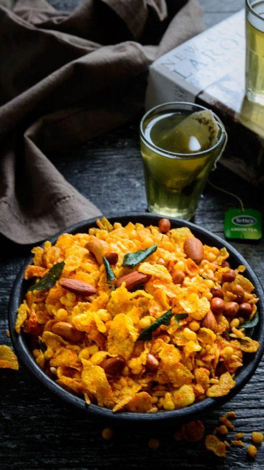 Cornflakes namkeen, Diwali snack