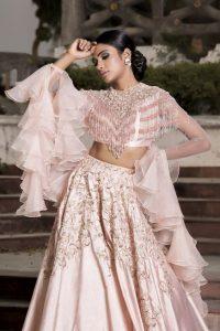 Frill dupattas for ethnic wear