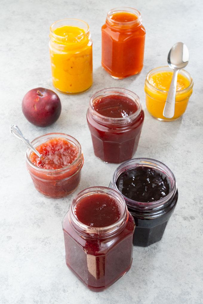 Mixed fruit jam recipe