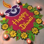 Say Happy Diwali To Everyone By Making This Rangoli Design At The Entrance Of Your Home