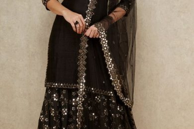 Simple Ethnic Sharara outfits