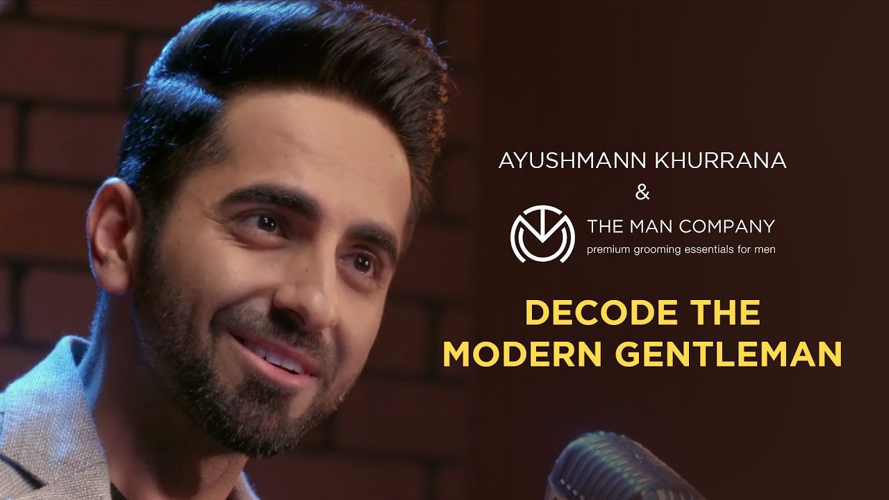 Ayushmann Khuranna decoding the modern gentleman