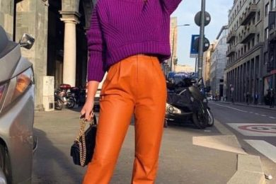 Color blocking for winters