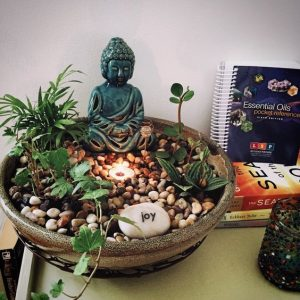 Decorate home with Buddha statue
