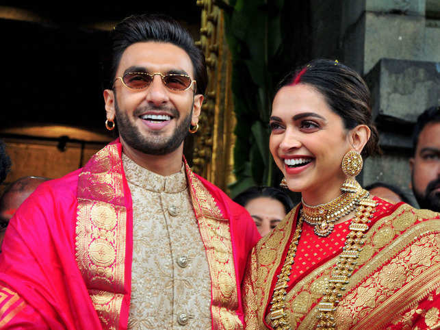 Deepika and Ranveer wedding anniversary