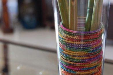 Reuse old bangles