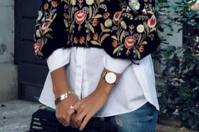 Styling white shirts for winters