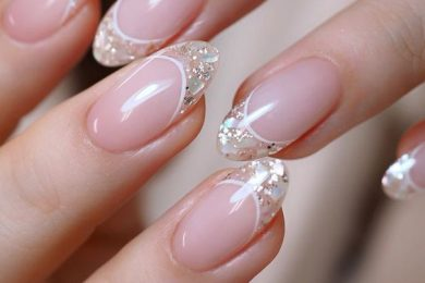 Try French Manicure In Style With These Design Inspirations