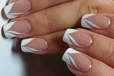 Different styles of French Manicure
