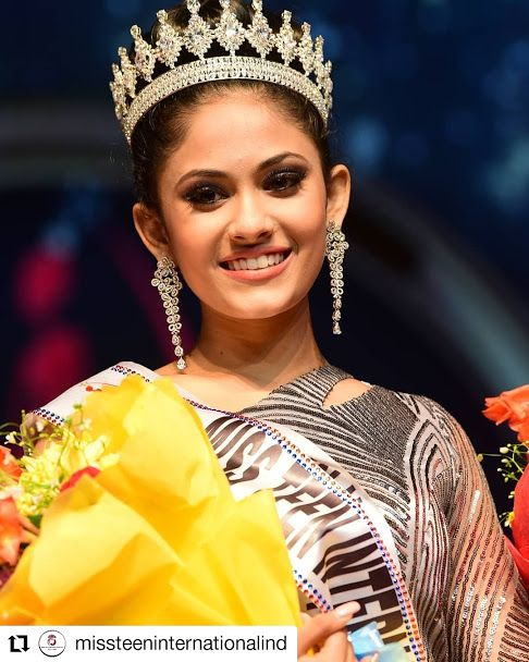India wins Miss Teen International 2019