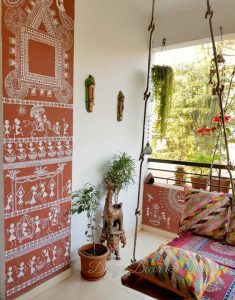 Indian wall art for home