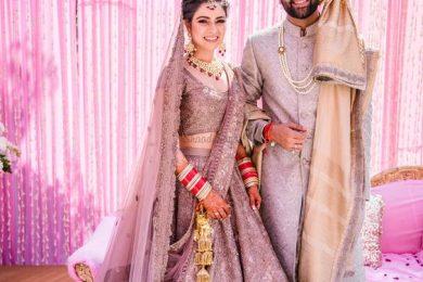 Lehnga and sherwani Color combination for couple