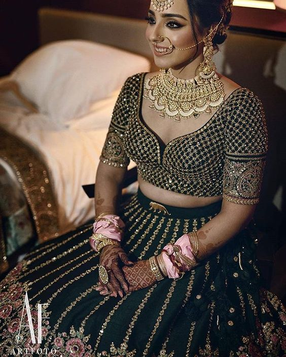 Necklines for bridal blouses