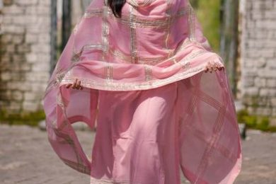 One lace salwar suit designs-Threads-WeRIndia