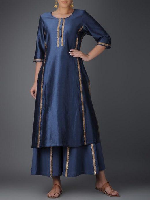 One lace salwar suit designs