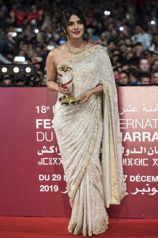 Priyanka Chopra honored at the Marrakech film festival