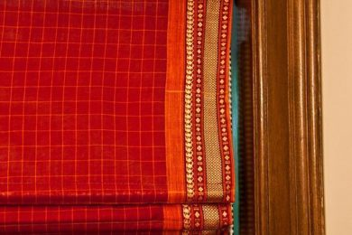 Repurpose and reuse old saree