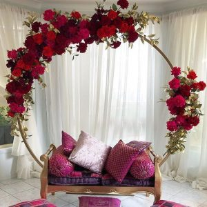 Ring seating arrangement for the bride