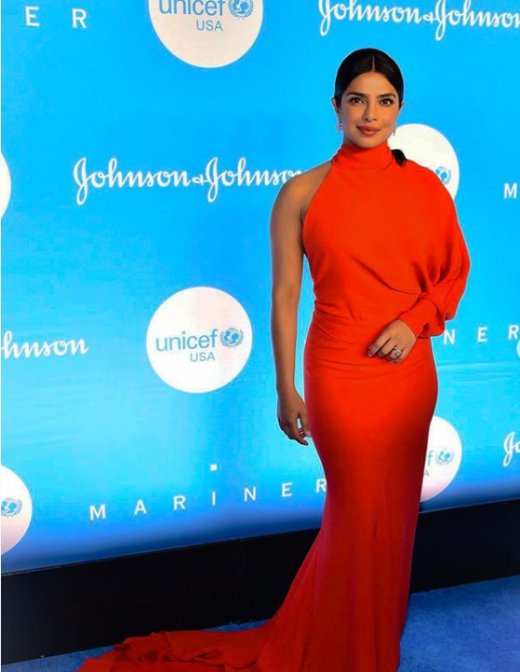 Priyanka Chopra awarded with Danny Kaye humanitarian award