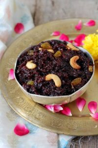 Beetroot halwa for winters