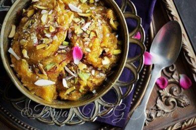 Chana dal halwa for winters