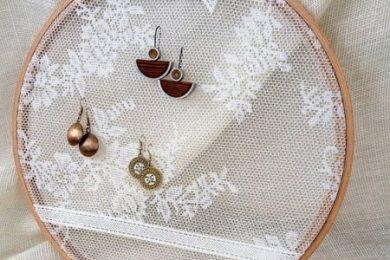DIY jewellery organizers and holders