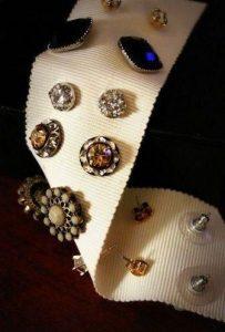 DIY jewellery organisers and holders