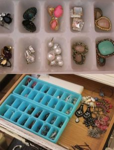 DIY jewellery organisers and holders