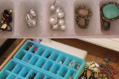 DIY jewellery organizers and holders