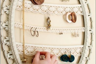 9 DIY Ideas To Organize and Store Jewellery