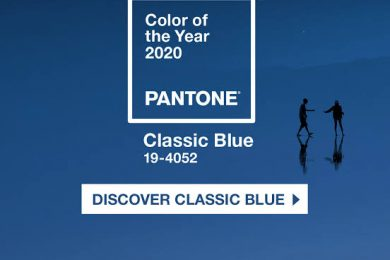 Pantone 'Color Of The Year' 2020 Is Classic Blue