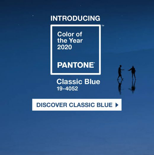 Pantone color of the year 2020