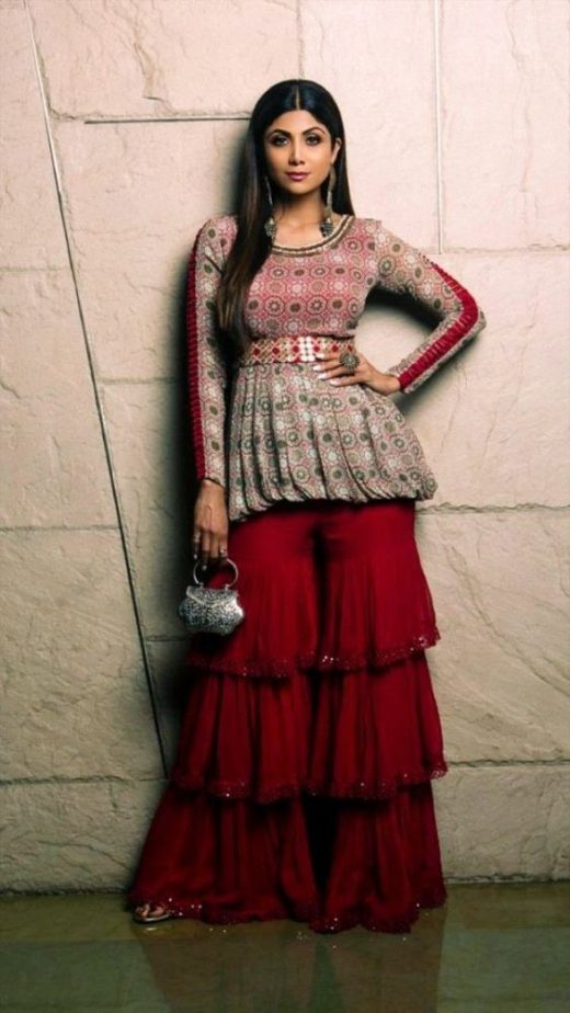 Sharara kurta designs