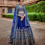 How To Rock The 'Pantone Color Of The Year: Classic Blue' In Bridal Wear