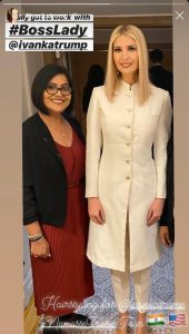 Bollywood hairstylist Anu did styling for Ivana Trump in India