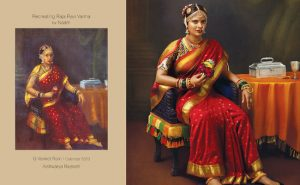 Calender on Ravi Verma pintings
