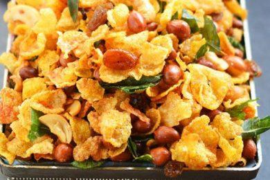 Cornflakes namkeen recipe