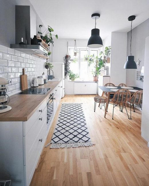 How to pep up kitchen area