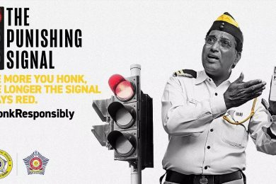 Honk More, Wait More: Mumbai Police Campaign To Stop Unnecessary Honking On The Roads