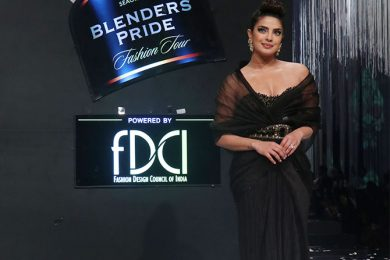 Priyanka Chopra At Blender's Pride Fashion Tour 2020