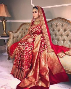 Saree for bridal wear