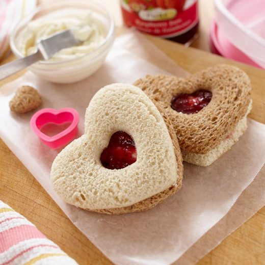 Valentine's Day breakfast recipes